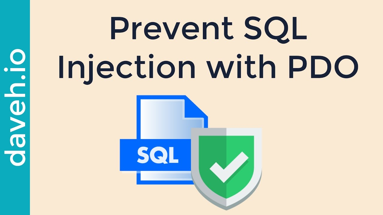 php protect against sql injection