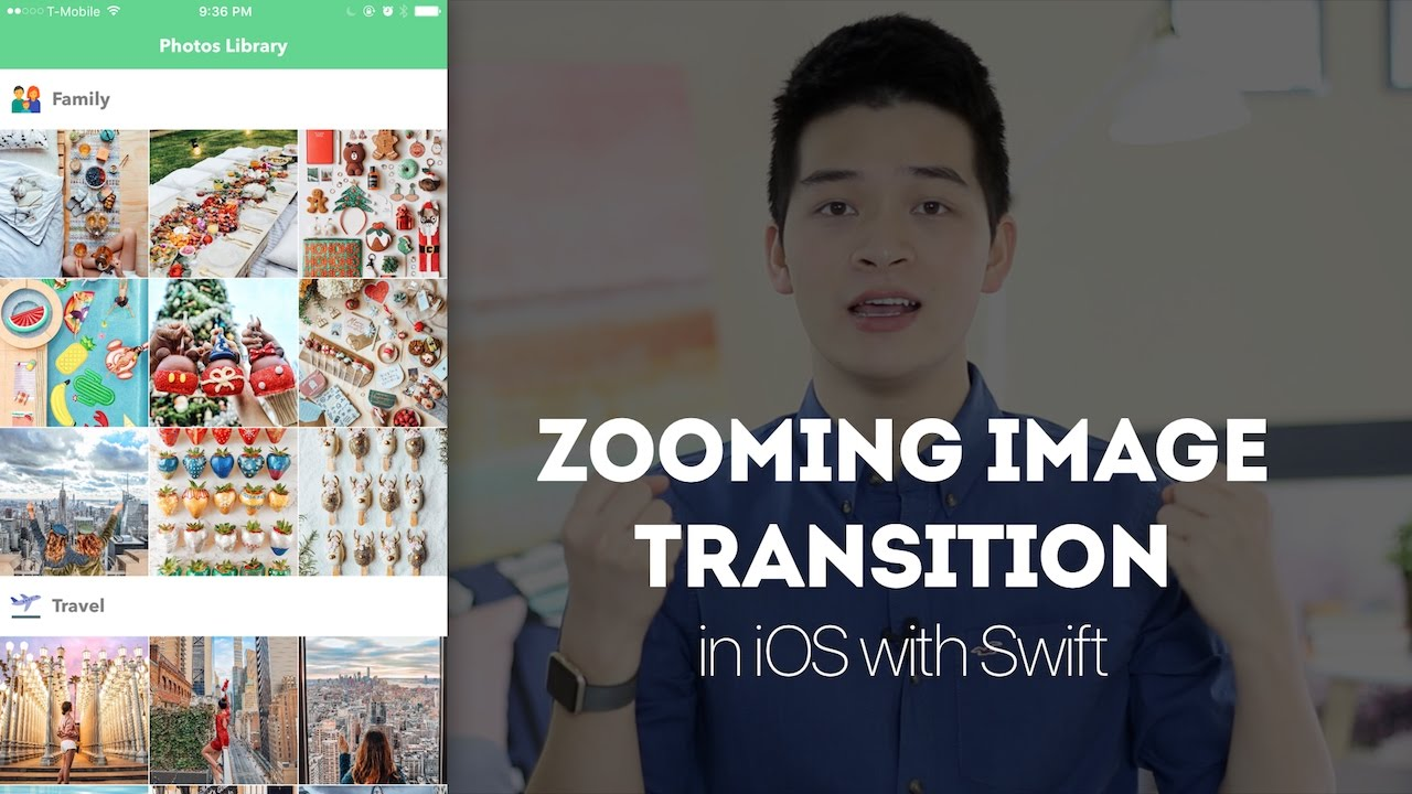 Create Zooming Image Transition - iOS