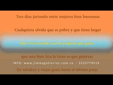KARAOKE ME BEBI LO DEL MERCADO -  JIMMY GUTIERREZ