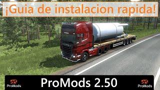 COMO INSTALAR PROMODS 2.50 para EURO TRUCK SIMULATOR 2 (V 1.38)!! // MepMotorsport