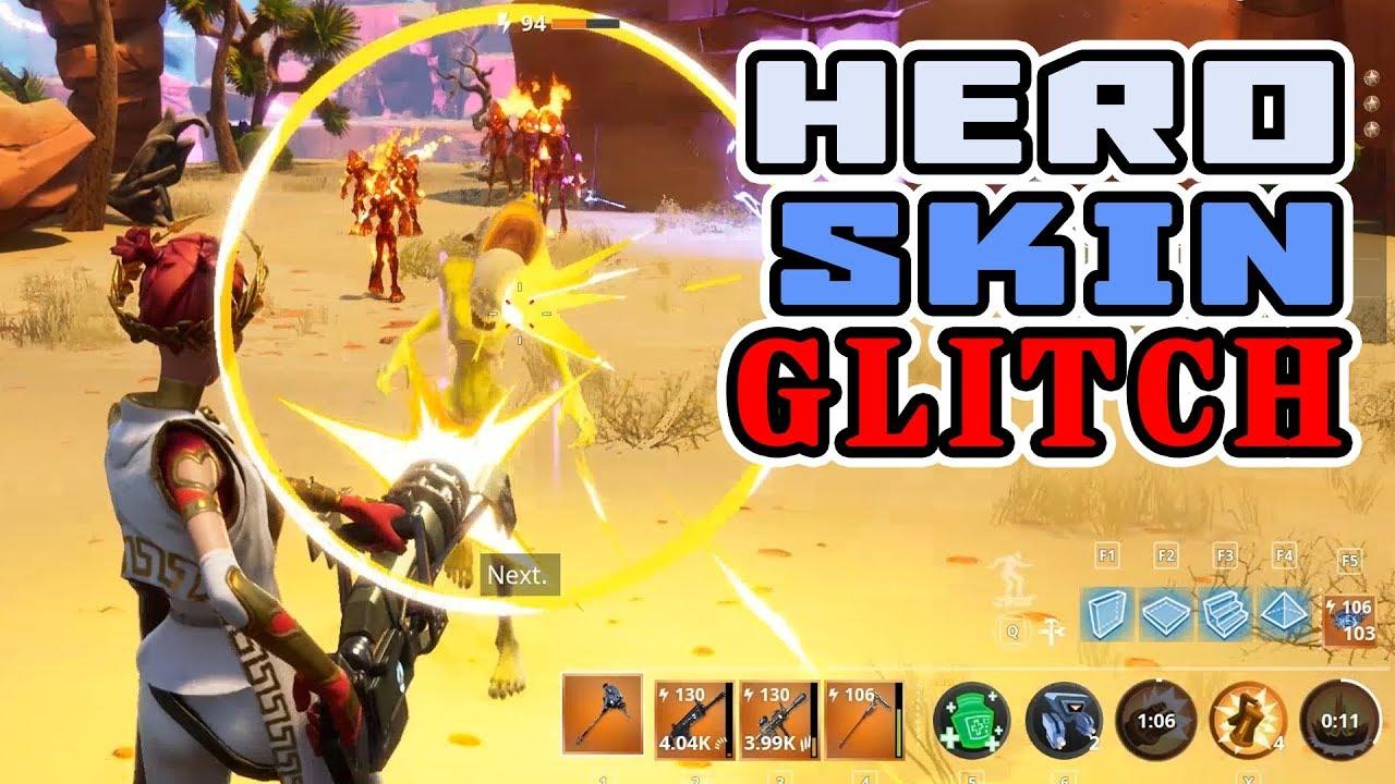 fortnite hero skin glitch change how you see your own hero in the game - fortnite change appearance