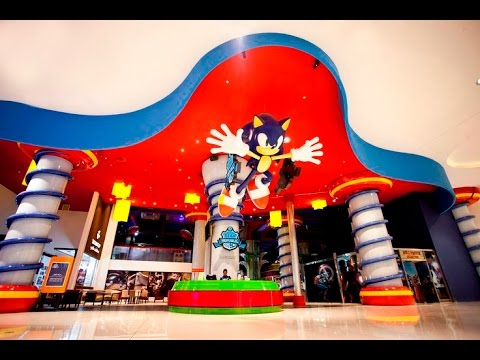Sega Republic Theme Park Dubai Mall Tour