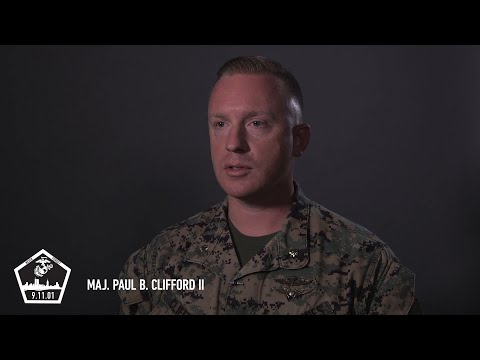 Maj. Paul B. Clifford II #MarinesRemember911