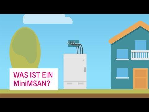 Social Media Post: MiniMSAN: Innovation für schnelles Internet auf dem Land -...