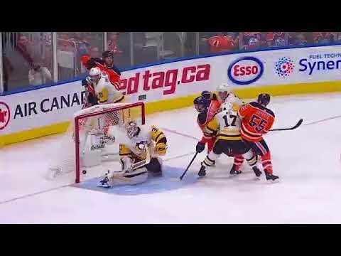 Oilers vs Penguins Mcdavid vs Crosby legendary duel