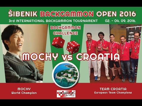 Mochy vs Croatia - 51pt match  [3rd Šibenik Backgammon Open]