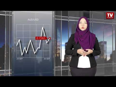 Pedagang beri perhatian kepada mesyuarat Fed  (26.09.2018)