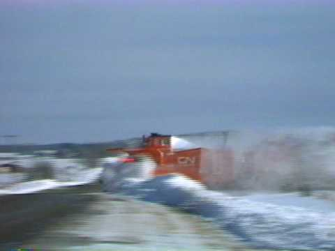 Thumbnail: Snow Plow With CN F7's Preview