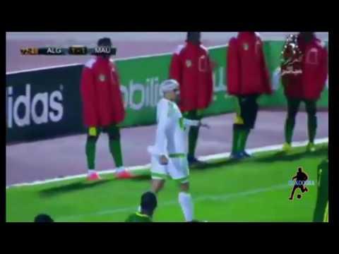 أهداف المنتخب الوطني الجزائري 3 - 1 منتخب موريتانيا