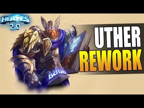 UTHER REWORK - maximum healing build // Heroes of the Storm 2.0 Beta