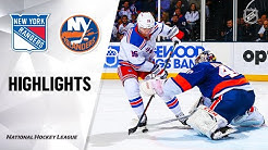 NHL Highlights | Rangers @ Islanders 2/25/20
