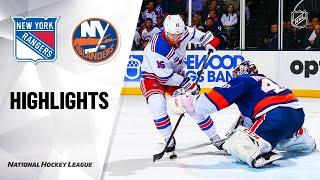 NHL Highlights | Rangers @ Islanders 2/25/20