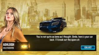 CSR Racing 2:-  Racing against Ashleigh (Tier 2 Boss) and Winning her Mercedes 45 AMG