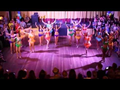 Melbourne Salsa INT/ADV SAMBA TEAM 2014 Xmas Ball showcase @ Salsa Grande Ormond Hall