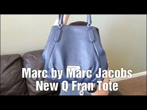 7c65651f0e157 Marc Jacobs New Q Fran Tote Review - YouTube