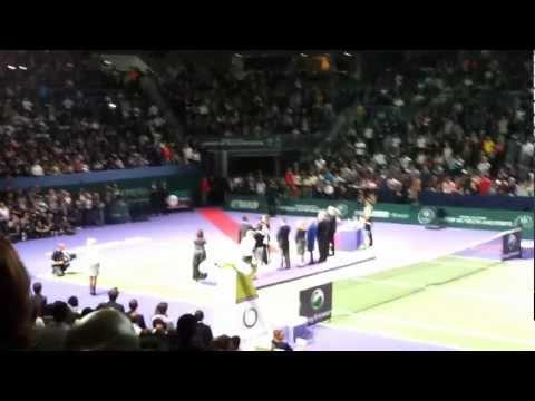 TEB BNP Paribas WTA Championships 2011, Istanbul. Award Ceremony Azarenka & Kvitova