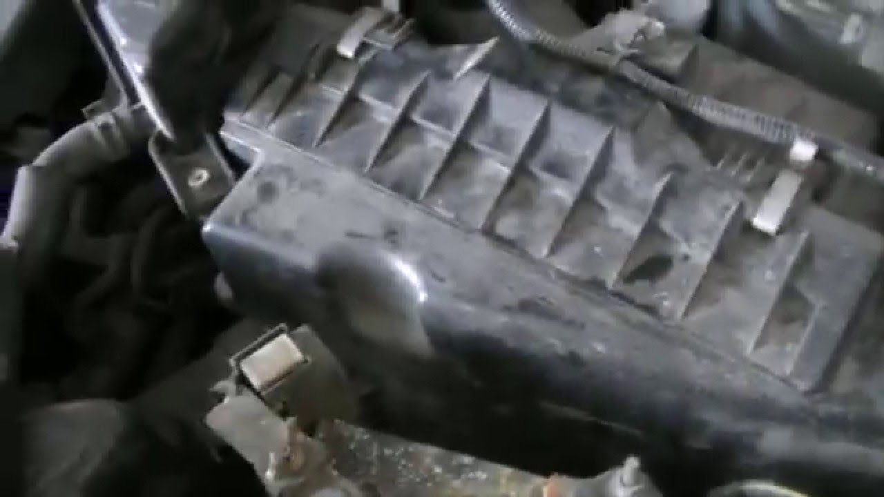 hight resolution of 2002 nissan maxima how to replace the air intake filter