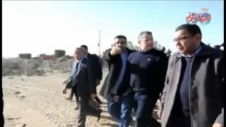 أخبار اليوم | محافظ القليوبية ووزير الأثار يتفقدان تل اليهودية ومنطقة حمامات أتريب