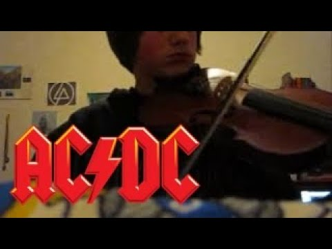 Thunderstruck Violin