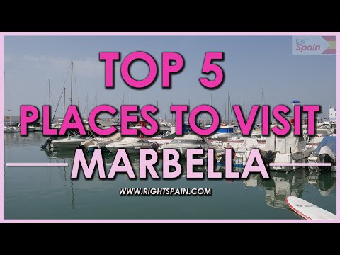 Top 5 Places to Visit In Marbella, Spain 2016.