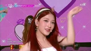 LOVE RUMPUMPUM - 프로미스나인 (fromis_9) [뮤직뱅크 Music Bank] 20190712
