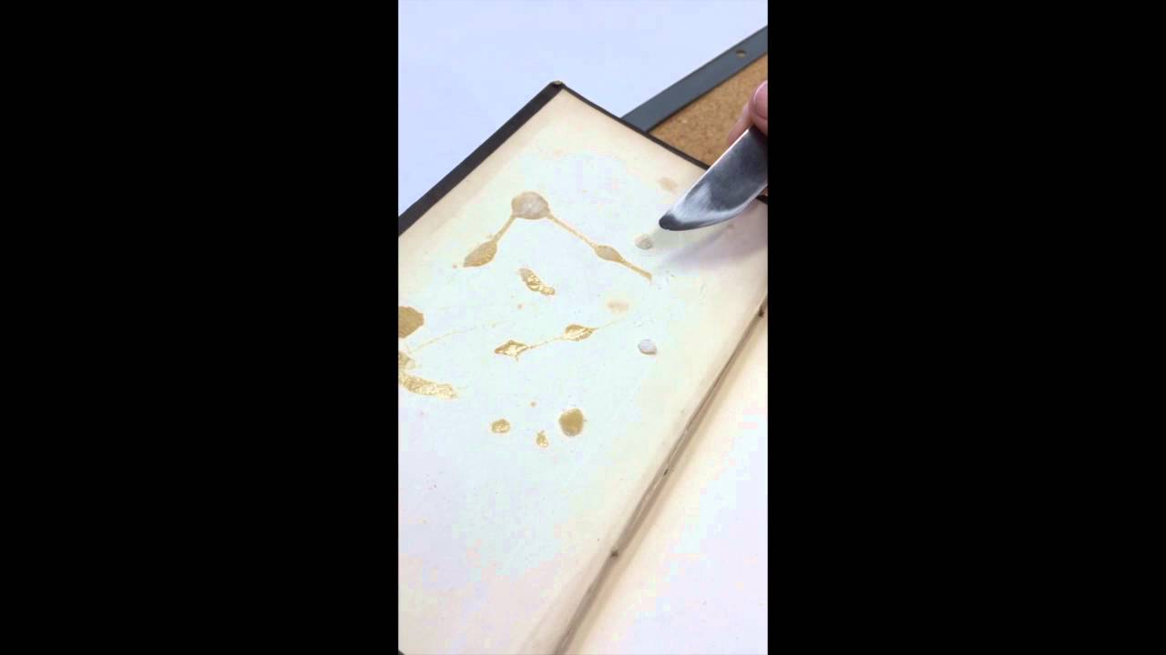 How To Clean Old Glue Off Paper Save Your Books Youtube