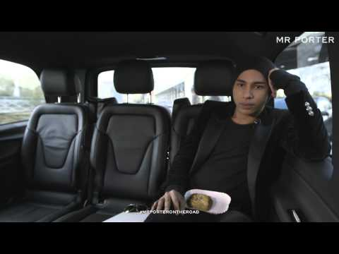ON THE ROAD WITH MR OLIVIER ROUSTEING, CREATIVE DIRECTOR OF BALMAIN