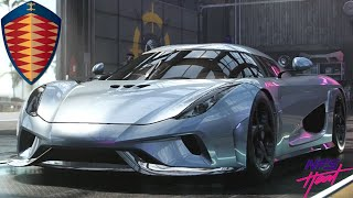 Need For Speed Heat - Koenigsegg Regera - Customization, Review, Top Speed
