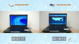 HDD vs. SSD: Speed Difference - Samsung SSD 840 EVO 250GB