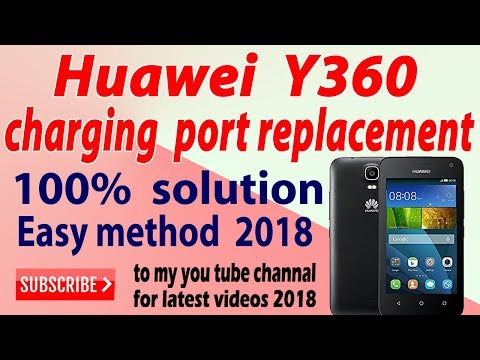 HUAWEI Y360 CHARGING PORT SOLDING URDU AND HINDDI - YouTube
