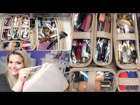 PACKING FOR TRAVEL: MAKEUP BAG AND TOILETRIES (WARNING: NOT FOR LIGHT PACKERS!)
