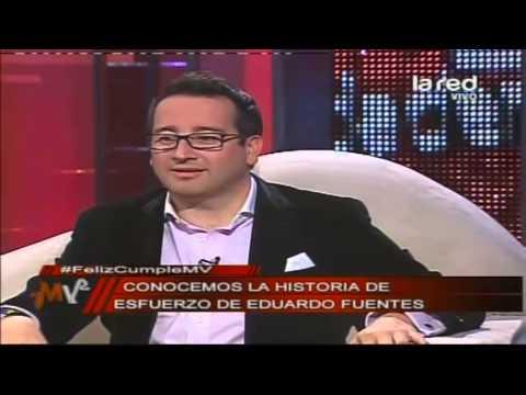 ¿Cómo partió Eduardo Fuentes en la televisión?