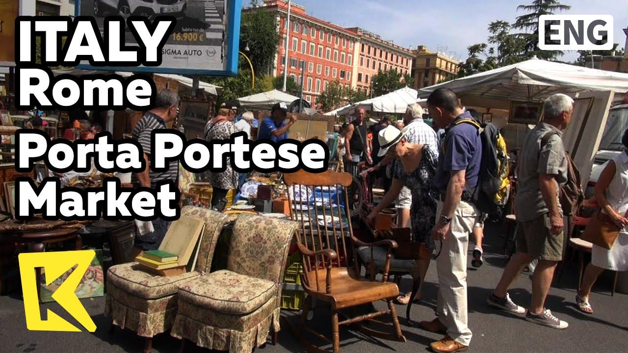 K italy travel rome porta - Porta portese roma case ...