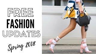 6 FREE Ways To Update Your Wardrobe - Spring Fashion 2018