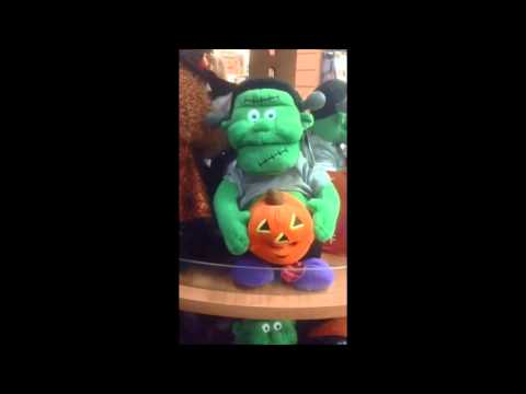 Frankenstein Soft Toy Singing Witch Doctor