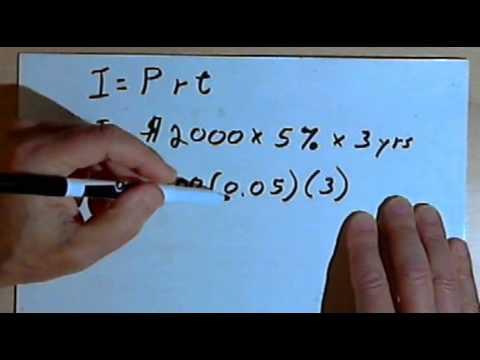 Calculating Simple Interest 127-4.18
