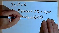 Calculating Simple Interest 127-4.18