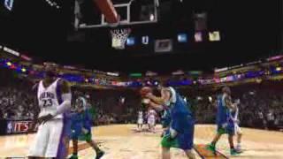 NBA 2K10 - J-Rich 360 Dunk!