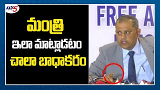 SEC Nimmagadda Reacts On YCP Minister Comments | AP Elections | CM Jagan | TV5 News