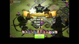 Clash of Clans: Push to 3500 (th9) Osa 5