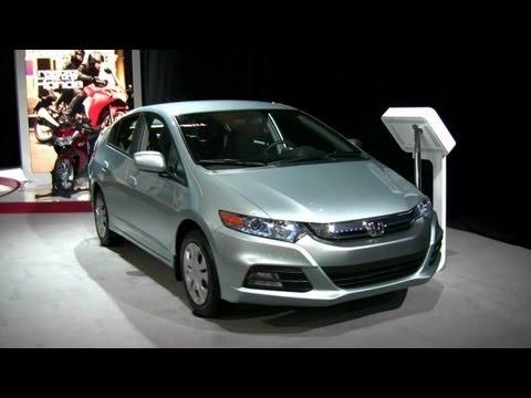 2012 Honda Insight Hybrid Exterior and Interior at 2012 Montreal Auto Show