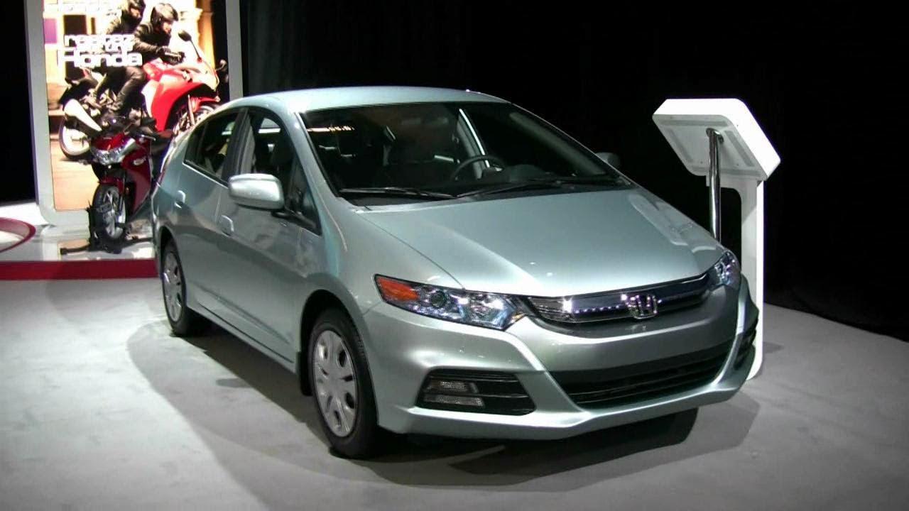 2012 Honda Insight Hybrid Exterior And Interior At 2012 Montreal
