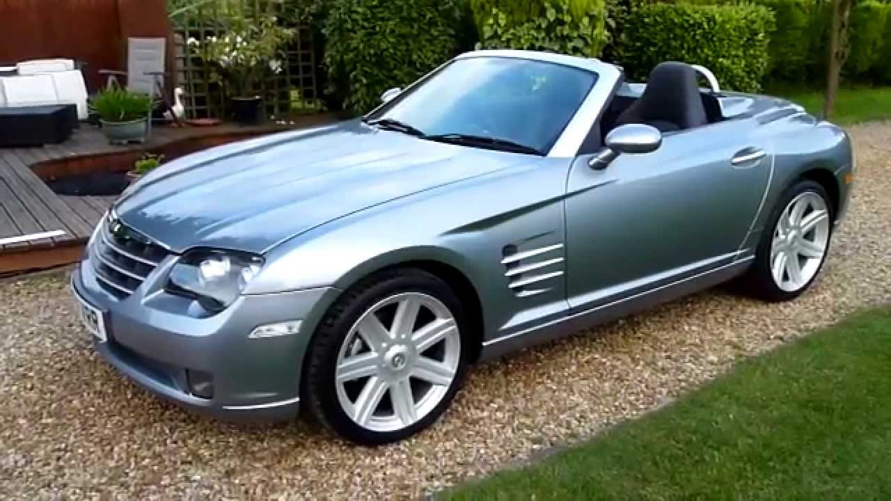 video review of 2004 chrysler crossfire convertible for sale sdsc specialist cars cambridge. Black Bedroom Furniture Sets. Home Design Ideas