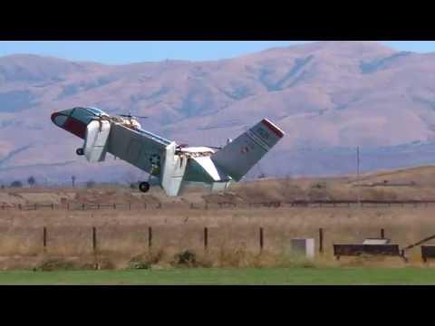 Bobs Bell Aerosystems Tri-Service V/STOL X-22A at Baylands
