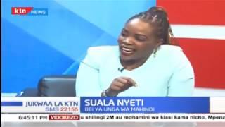 Bei ya unga wa mahindi - Suala Nyeti