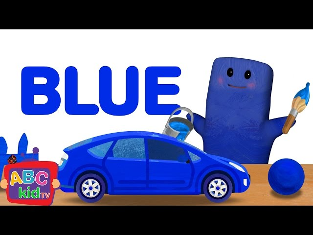 Color song - Blue | CoCoMelon Nursery Rhymes & Kids Songs