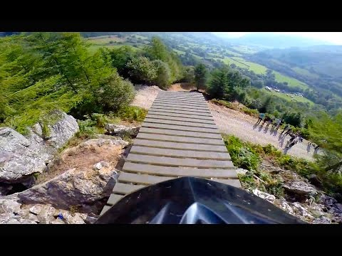 Dan Atherton's Intense Downhill MTB Run: GoPro View | Red Bull Hardline