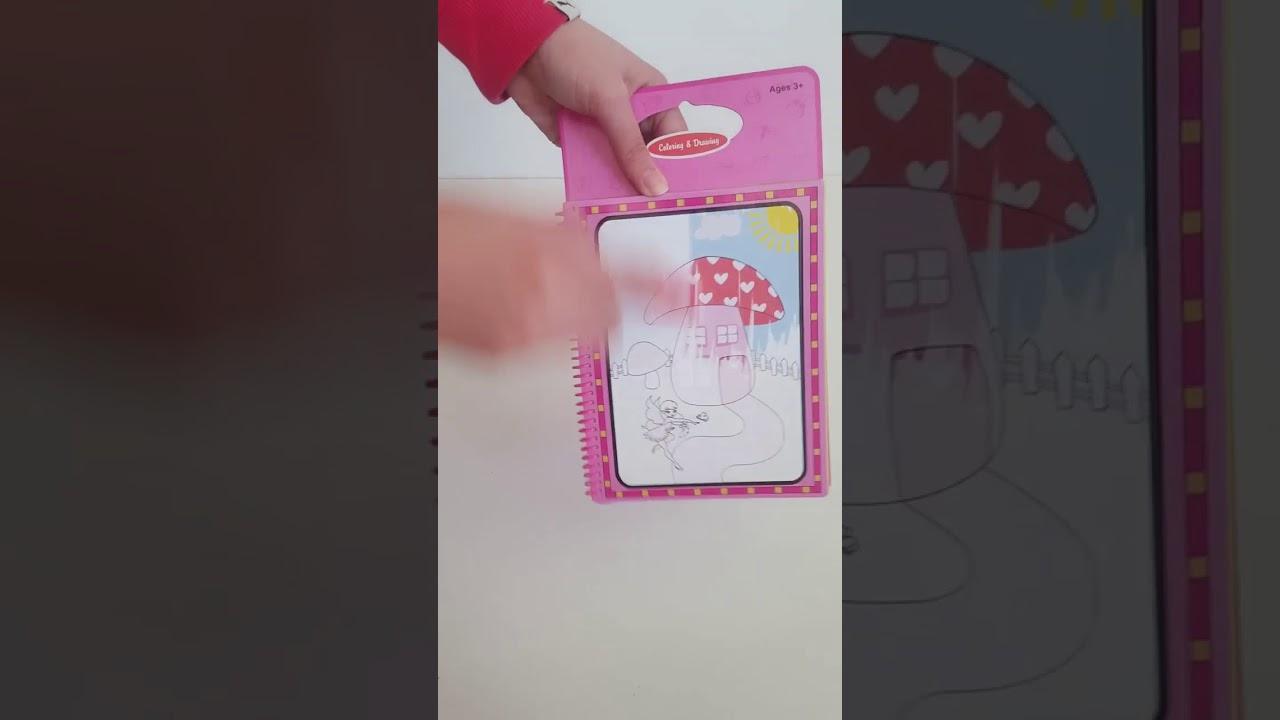 Magic Water Book Sihirli Boyama Kitabi Kelebek Prensesler