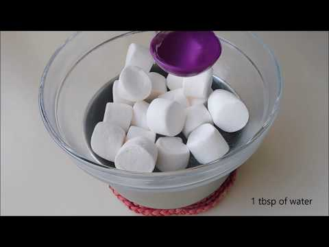 Marshmallow fondant  without microwave