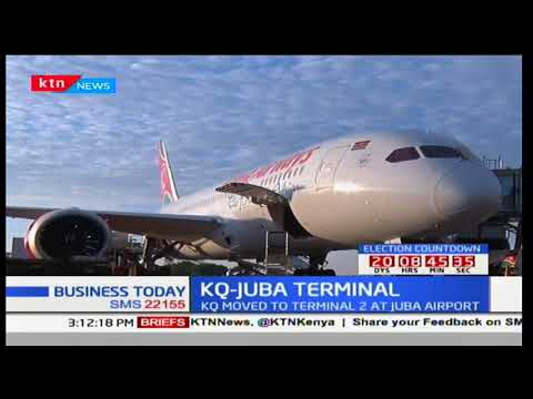 KQ moved to terminal 2 at Juba airport